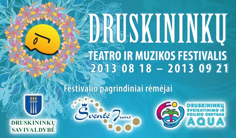 Druskininkų teatro ir muzikos festivalio pagrindiniai rėmėjai